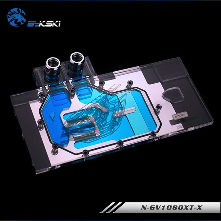 Bykski N-GV1080XT-X Full Cover Graphics Card Block for Gigabyte GTX1080  Firefly GTX1080 XTREME
