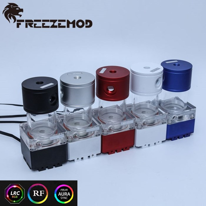 FREEZE MOD Computer water-cooled mute pump with a 4meter flow 800L/H  support RGB AURA PUB-FS6MA-14