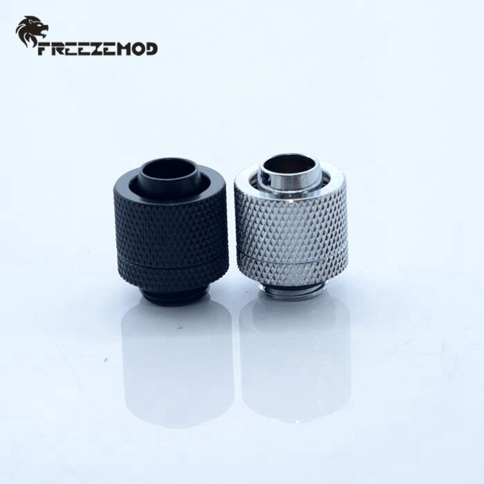 G1//4 External Thread Connector Fitting for 9.5X12.7mm Soft Tube PC Water Cooling