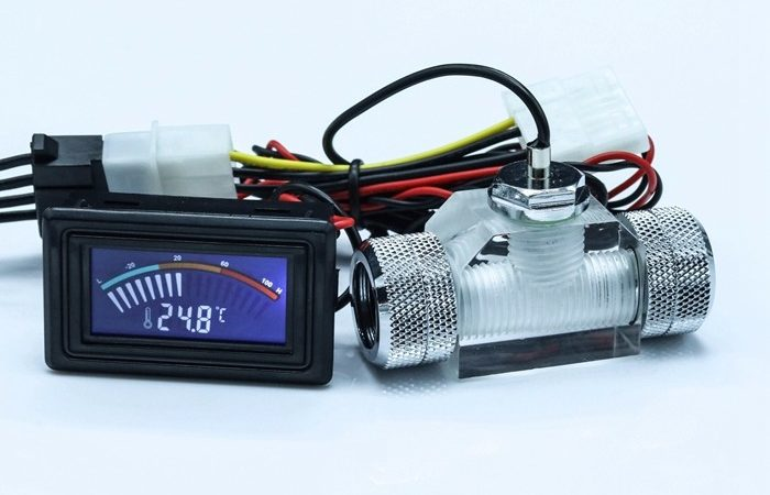 Barrow Water(Liquid) Cooling Flow indicator- Electronic DATA version with Signal Output Of Flow Status. SLF-V1 (Copy)