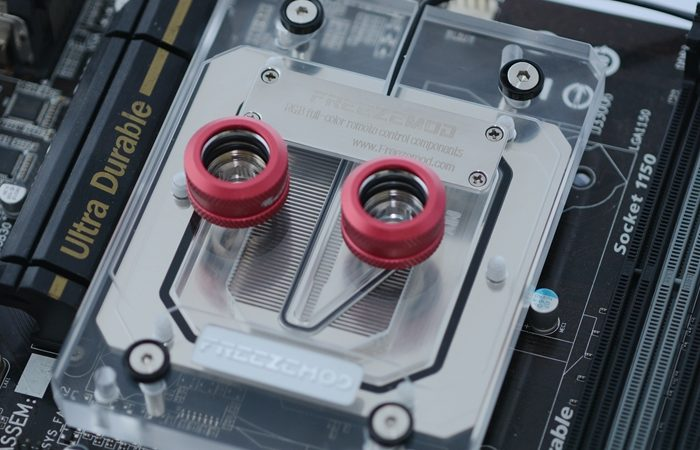 Freezemod CPU copper block support AMD/AM4/TR4. AMD-XPM