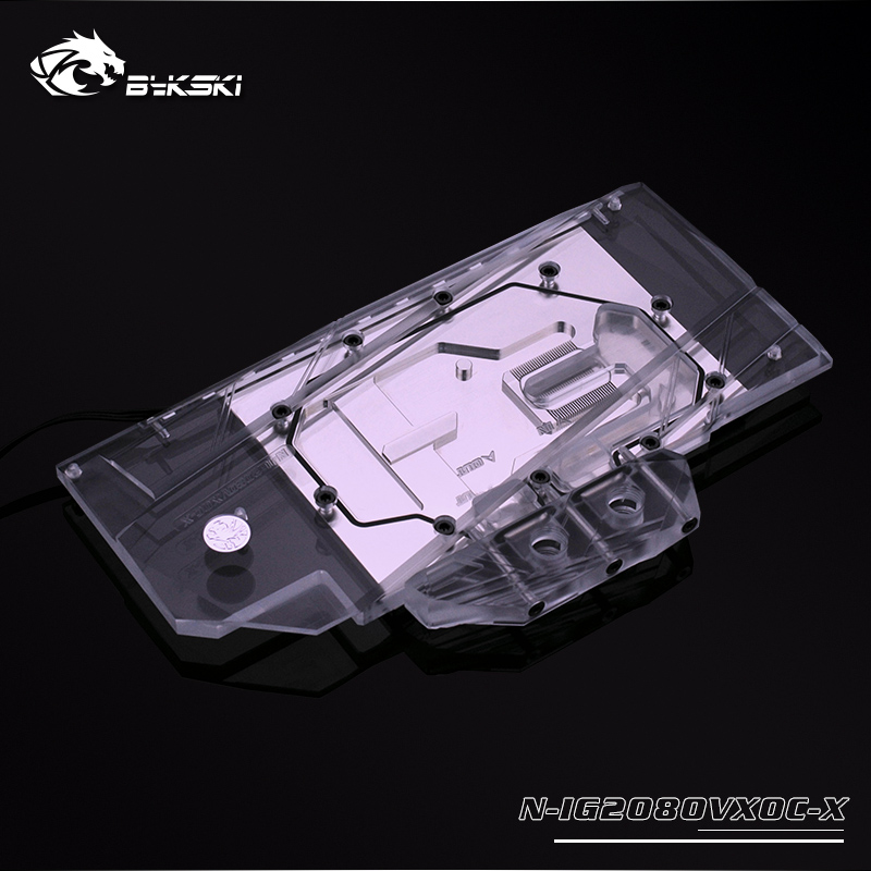 Bykski N-IG2080VXOC-X Graphics Card Water Cooling block for Colorful RTX  2070/2080 Vulcan X OC