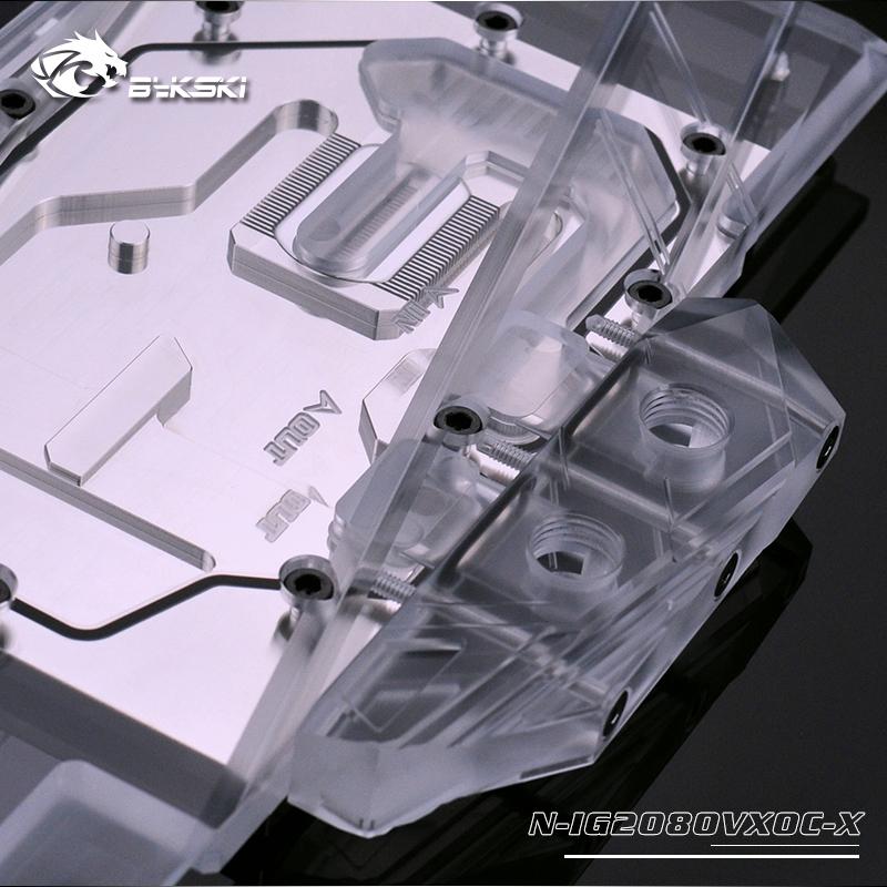 Bykski N-IG2080VXOC-X Graphics Card Water Cooling block for Colorful RTX  2070/2080 Vulcan X OC