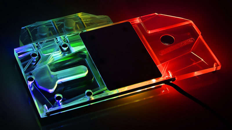 Bykski N-IG2070GT-X Colorful Colorful RTX2070 Gaming GT full cover Graphics card water cooling block