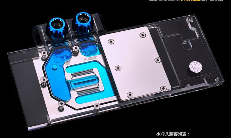 Bykski N-ST1060PLUSV2-X . ZOTAI GTX1060 PLUS GAMING full cover Graphics card water cooling block