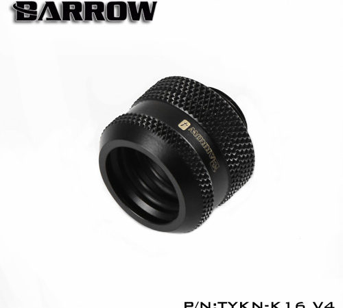 """OD16mm Hard tube fitting – Barrow water cooling fittings G1/4"""" external thread with allen key hole. TYKN-K16 V4"""