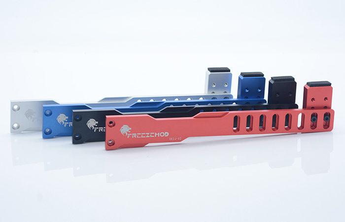 FREEZEMOD full metal graphics card holder full aluminum alloy CNC machining slider with insulation pad. XKZJ-V2